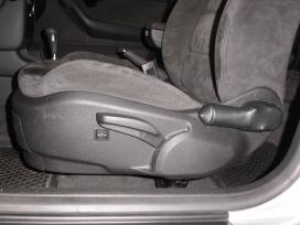 Elektrické polohování sedadla