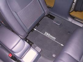 Speciální Veigel úprava sedadla pro nakládání invalidního vozíku